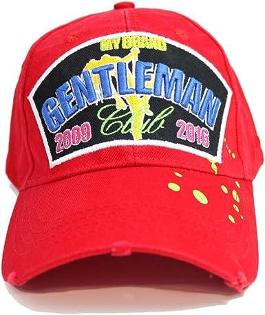 My Brand - Gorra de béisbol - para Hombre Rojo Rosso Taille Unique ...