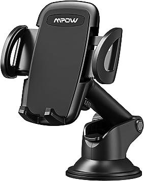 HTC MP3 etc Mpow Support de T/él/éphone Support T/él/éphone Voiture Tableau de Bord Support R/éutilisable Support de T/él/éphone Support Voiture T/él/éphone GPS pour iPhone Noir Galaxy LG