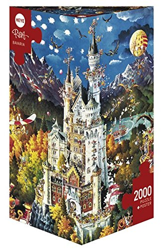 Heye Triangular Bavaria Ryba Puzzles (2000-piece)