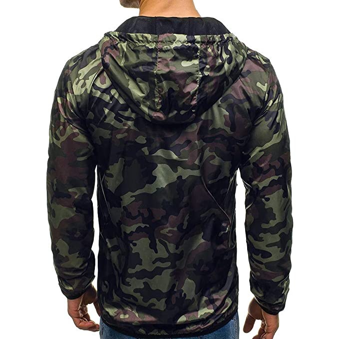 Amazon.com: Coats 2019 Mens Autumn Winter Zip Casual Camouflage Slim Pocket Fit Hoodies Jacket Coat Clearance (2XL, Blue): Toys & Games