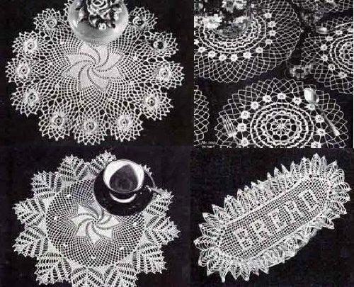 Schöne Deckchen gehäkelt Muster