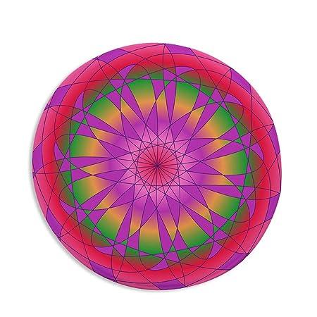 1Sconto Mandala Imprimir Alfombra Redonda De Yoga Cojín Sala ...