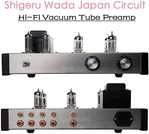 Nobsound 12AX7 12AU7 Vacuum Tube Preamp HiFi Preamplifier Shigeru WADA Japan Circuit Assembled