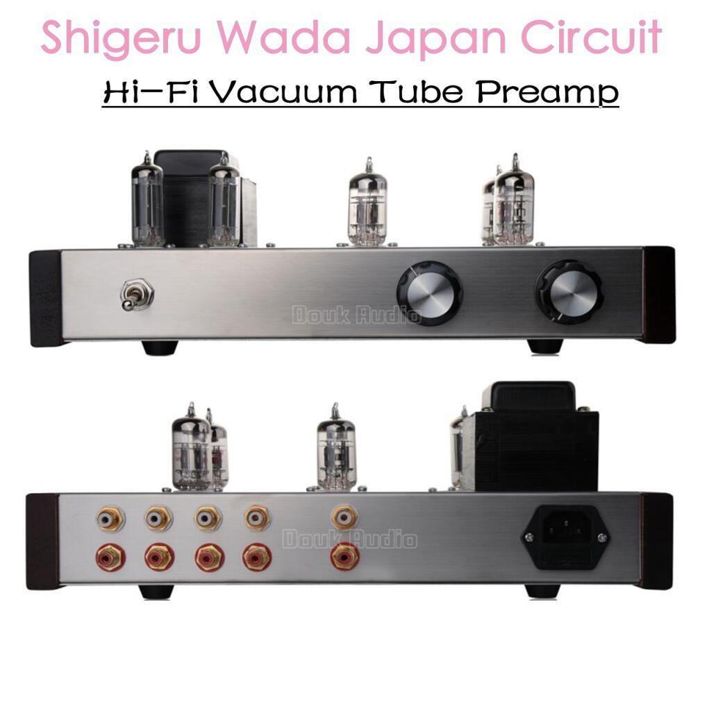 Nobsound 12AX7 12AU7 Vacuum Tube Preamp HiFi Preamplifier Shigeru WADA on