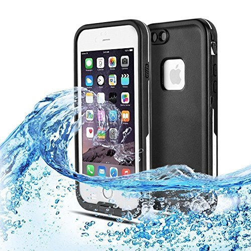 official photos 8618c d84bc Waterproof iphone 6 case, Bessmate Dustproof, Shockproof Case with  Fingerprint ID Function for iPhone 6 (4.7 Inch)