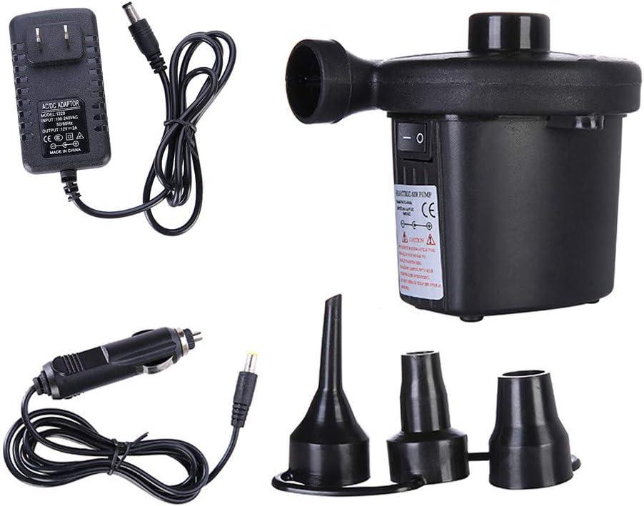Other Big Sales Black Electric Air Pump Pump 12V 110V Boat Pump Electric Pump Blower Pump New US HINK-Home Inflatable Pump