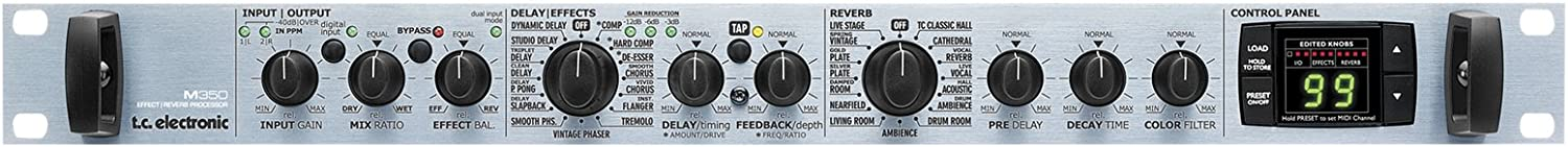 tc electronic M350 Effects and Reverb Rack Processor