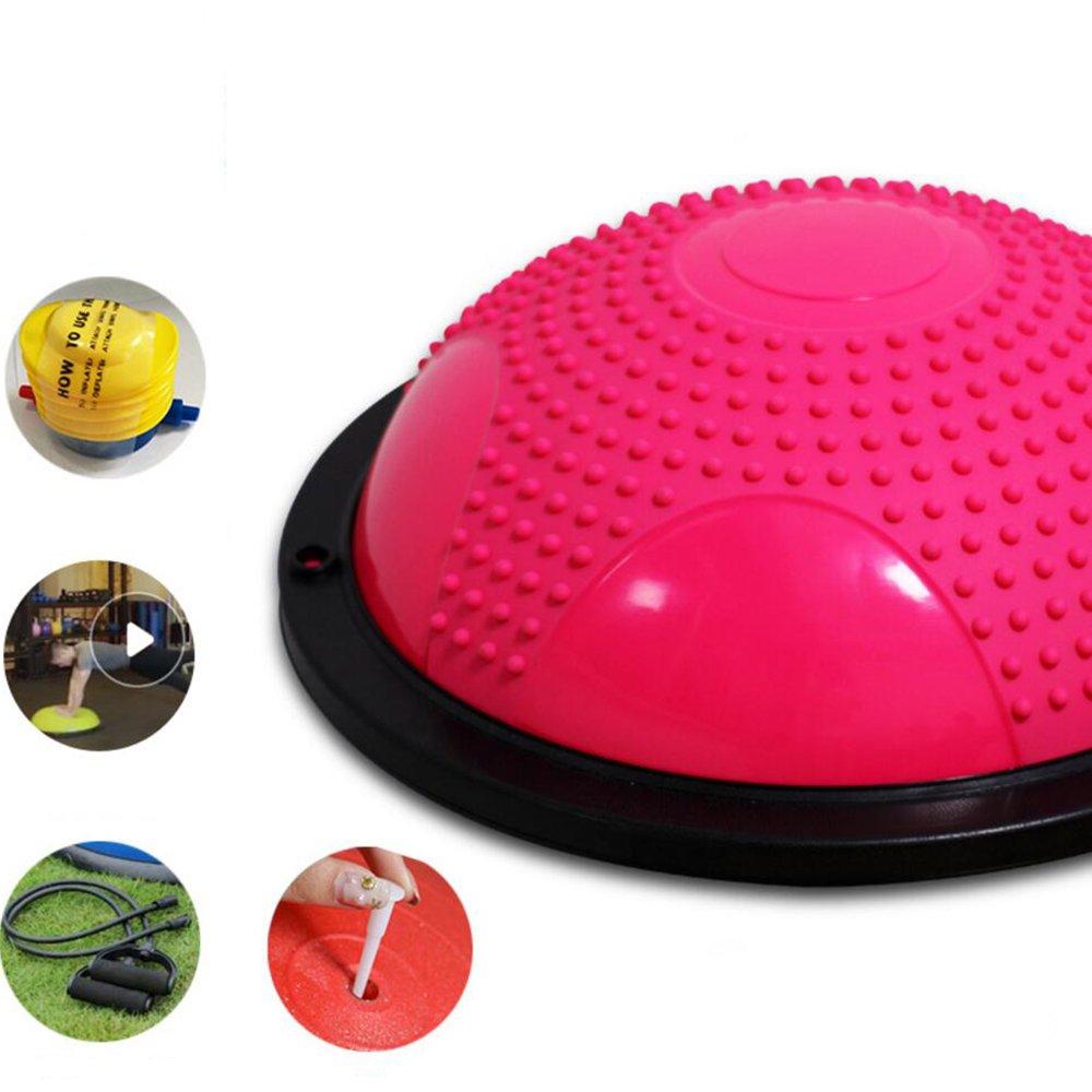 rose  Wly&Home EntraîneHommest équilibré Avec Un Design De Massage Anti-Dérapant, Bleu, 60 Cm De Diamètre