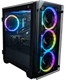 CUK Stratos Micro Gamer PC (Liquid Cooled Intel Core i9, 32GB RAM, 512GB NVMe SSD + 2TB HDD, NVIDIA GeForce RTX 3070 8GB…