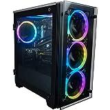 CUK Stratos Micro Gaming Desktop PC (Intel i5-10400F, 16GB DDR4 RAM, 512GB NVMe SSD, NVIDIA GeForce GTX 1650 4GB, 500W PSU, N
