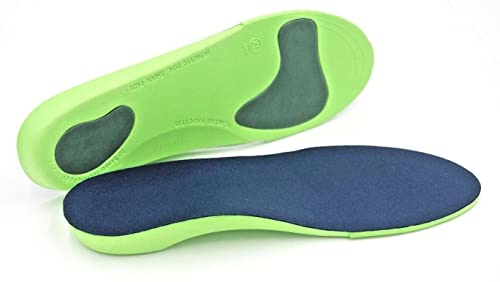 Orthotic Insoles Arch Support Back heel Pain Treatment of Plantar fasciitis For Running Trainers Hiking Boots General Walking
