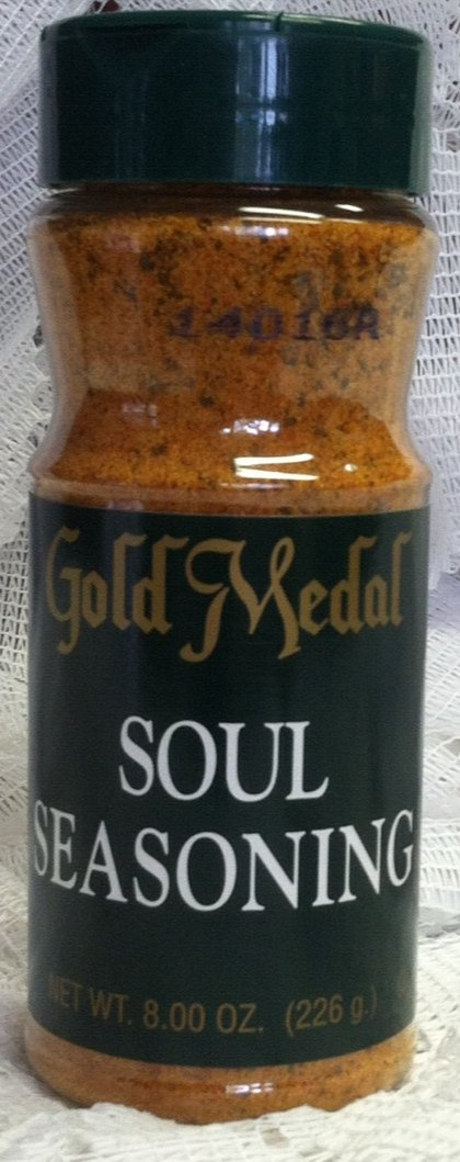 Gold Medal Soul Seasoning Net Wt 8.0 Oz.