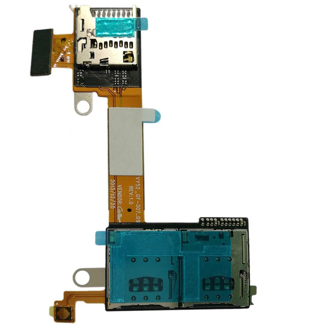 ZHANGLI - Cable Flexible para Sony Xperia M2 (con Tarjeta Micro SD ...