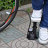 Wall of Dragon Bicycle Pumps Mini Portable High-Pressure Bicycle Pump Pedal Cycling Pumps Straddling