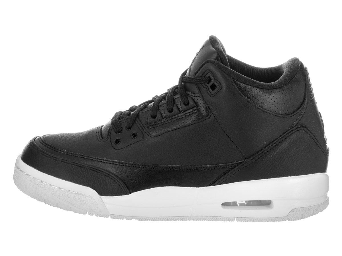 Nike Men s Air Jordan 5 Retro Black/Black/White Basketball Men Shoe