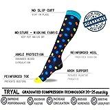 Compression Socks Women & Men 20-30 mmHg