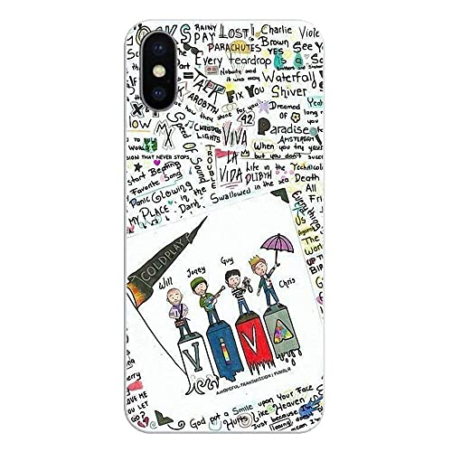 Coldplay Parachutes iphone case