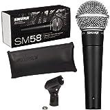Microfone c/Fio de Mão Dinâmico - SM 58 LC Shure