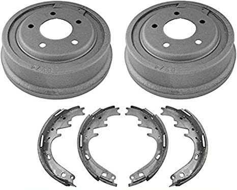 """For 77-86 F150 W// Larger 11/"""" Rear Drums Shoes Wheel Cylinders Springs Rear 6Pc"""