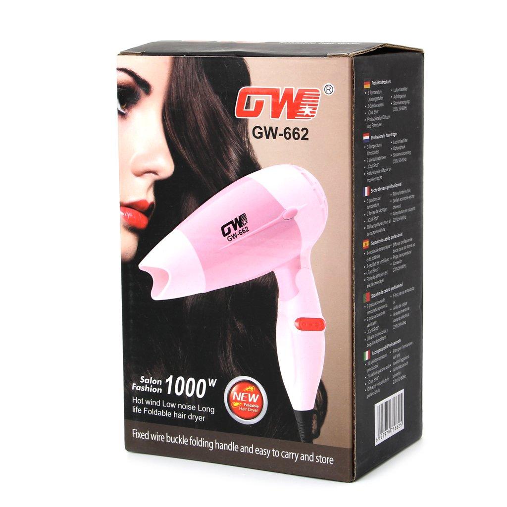 jimtw-fr secador de pelo plegable Mini ventilador de la UE de enchufe del ventilador 220 V de bajo ruido (de viajero: LGGWUKDCF: Amazon.es: Bricolaje y ...