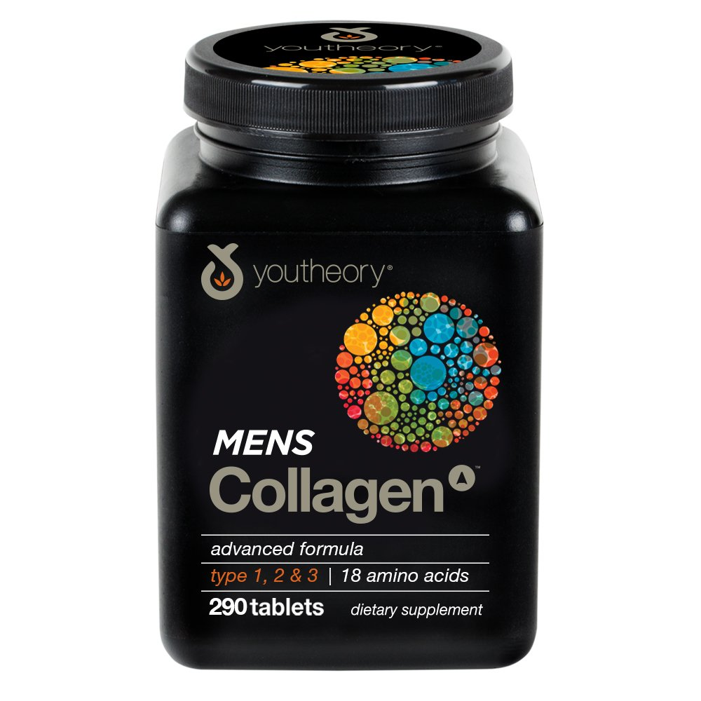 Youtheory Mens Collagen Advanced 1, 2 and 3