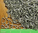 "USA 1/2"" Galv Hog Rings Net Attachment fence cage Car Upholstery (150)"