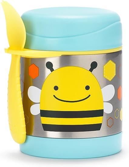 Imagen deSkip Hop Zoo Bee - Termo para alimentos y tenedor-cuchara