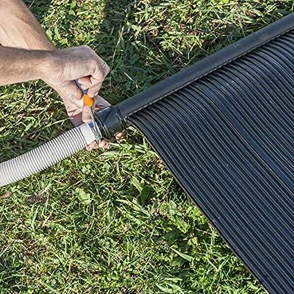 Gre AR2069 - Calentador solar de agua para piscinas con bomba de 1/3 HP: Amazon.es: Jardín