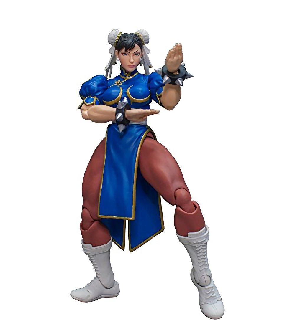 Street Fighter V Agent of Justice Chun-Li 1/12 Scale Action Figur