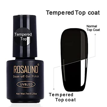 Clearance Sale! Steel Nail Gel Top Coat for Teen Girls Women, Iuhan No-