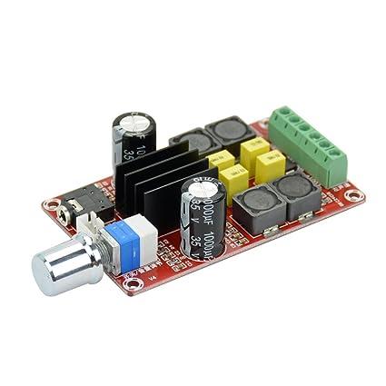 AIYIMA TPA3116D2 - Amplificador de Audio (Clase D, Doble Canal, 2 x 50
