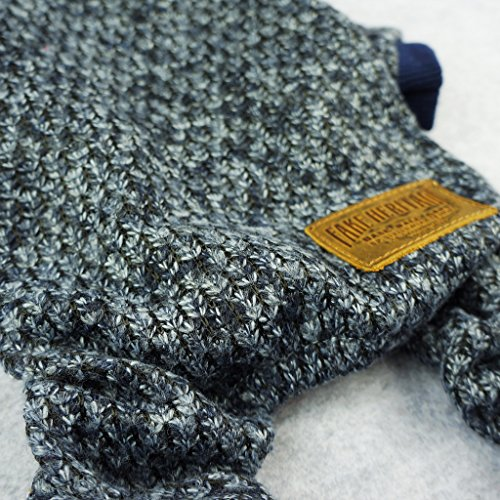 Fitwarm Knitted Thermal Pet Clothes for Dog Pajamas PJS Coat Jumpsuit, XL by Fitwarm (Image #2)