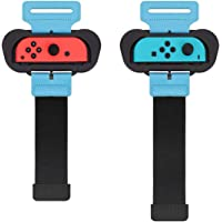 MoKo Wristbands for Switch/Switch OLED Model (2021) Just Dance 2020 2021 and Zumba Burn It Up, 2Pack Easy Using…