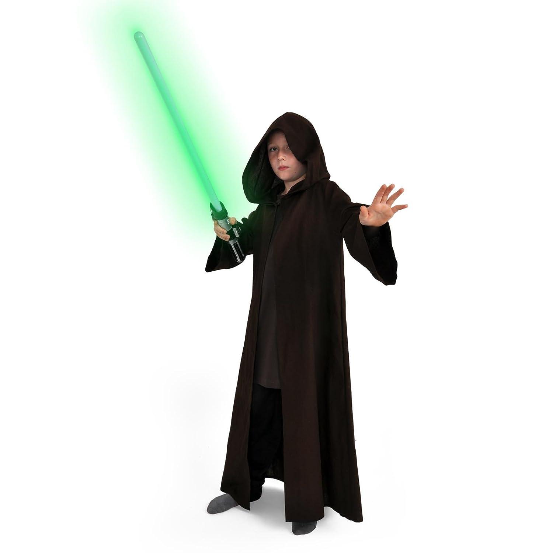 Star Wars túnica Jedi para los niños Abrigo Largo Traje ...