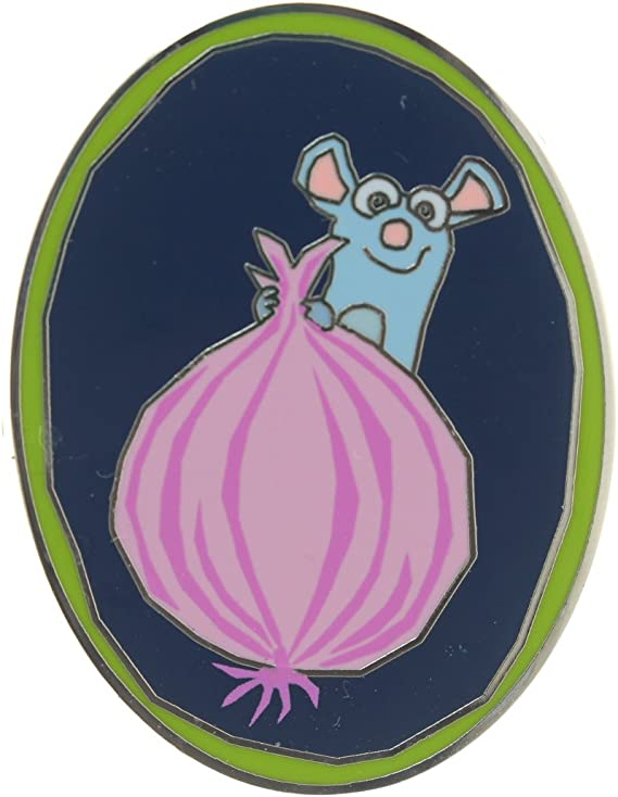 NEW Disney 2015 Food /& Wine Festival Remy/'s Ratatouille Hide /& Squeak Onion Pin