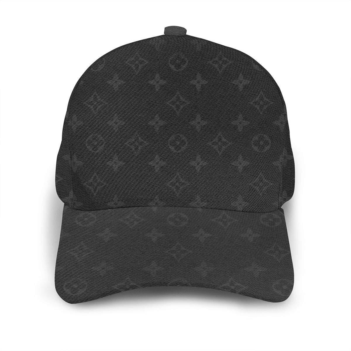 ELVg Unisex Classic Trucker Hat Adjustable Strapback Hat Dad Baseball Caps Black
