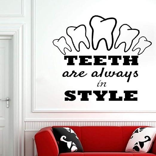 woyaofal Cita de la clínica Dental Tatuajes de Pared Cuidado del ...