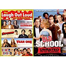 Todd Phillips & Jude Apatow Collection: Pineapple Express, SuperBad, Year One, Youth in Revolt, and Old School 5-DVD Double Feature Bundle