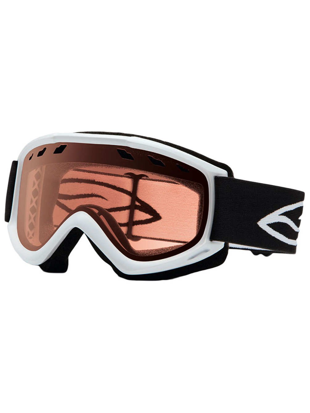 Smith Optics Cascade Airflow Series Snocross Snowmobile Goggles Eyewear - Cobalt/Gold Lite / One Size Fits All