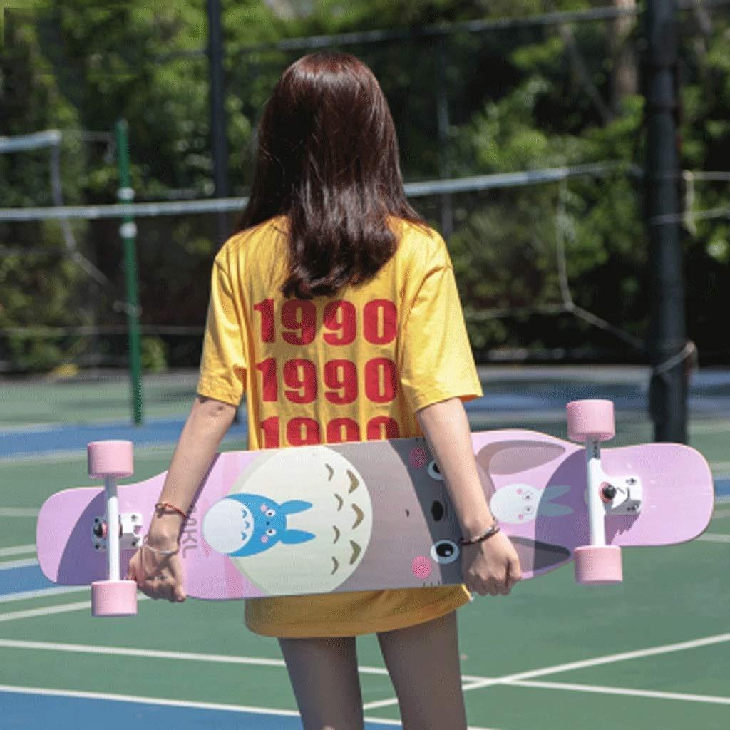 GJF Langes Brett Bilateral Inclined Skateboard Fähigkeiten Erwachsene Erwachsene Erwachsene Straße Dance Board Männer und Frauen Jugendliche Anfänger Street Skateboard B07QDGBCQL Skateboards Einfaches Leben a2bf20