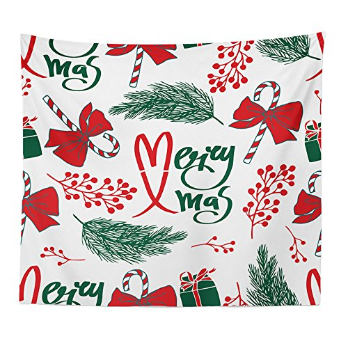 Price comparison product image Smdoxi_home Christmas Tapestry Carpet Xmas Hippie Room Bedspread Wall Hanging Throw Blanket