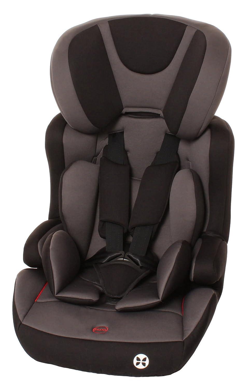 Kindersitz, Isofix, Autositz, Kindersitz mit Isofix, Kinderautositz, Gruppe 1/2/3, 9-36kg, ca. 9 Monate - 12 Jahre, ECE R44/04, Babyblume PEACH Isofix, Nero