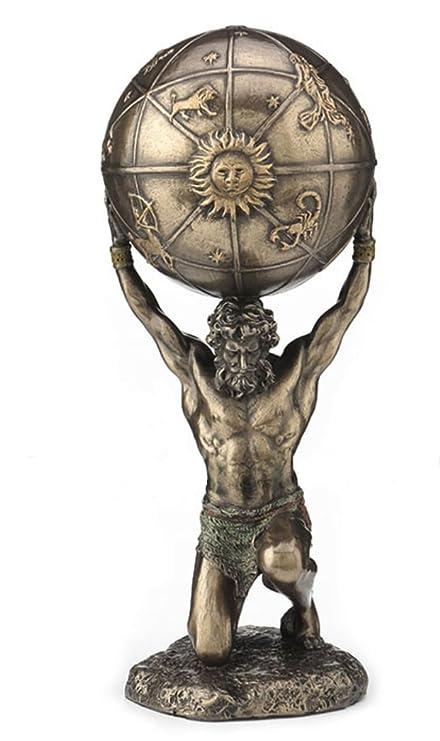 Amazon Com 8 33 Greek God Atlas Carrying Celestial Sphere