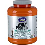 NOW Sports Dutch Chocolate Whey Protein, 6-Pound