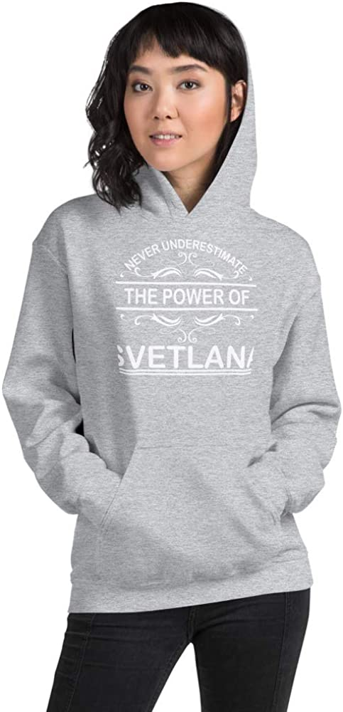 Never Underestimate The Power of Svetlana PF Sport Grey