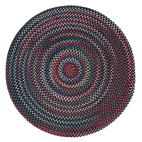 UPC 082262095932, Chestnut Knoll Polypropylene Braided Round Rug, 10-Feet, Baltic Blue