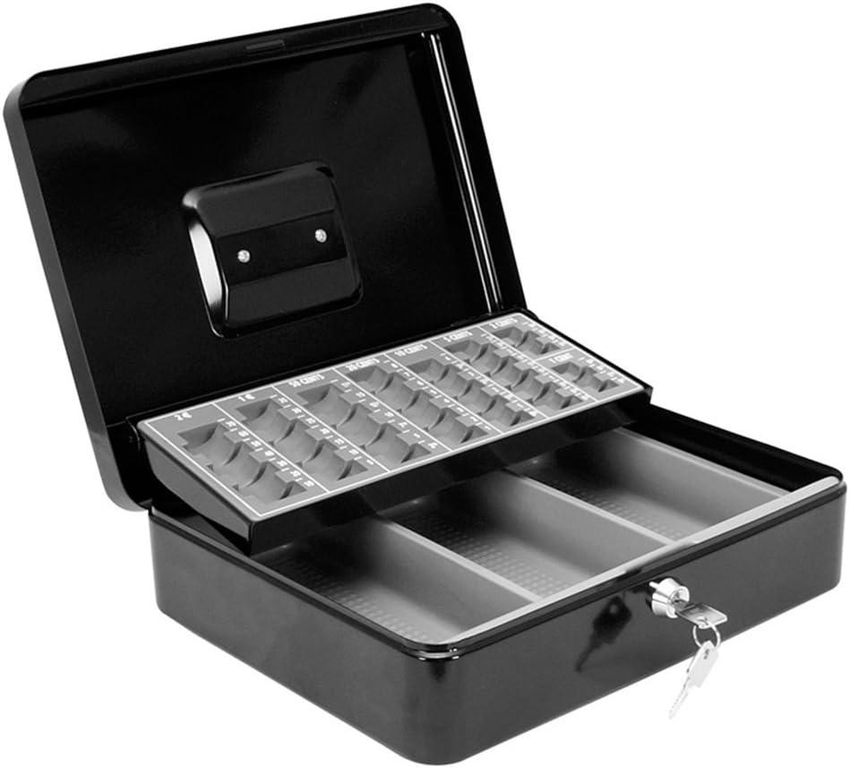Makro Paper TS0015 - Caja de caudales con bandeja portamonedas: Amazon.es: Oficina y papelería