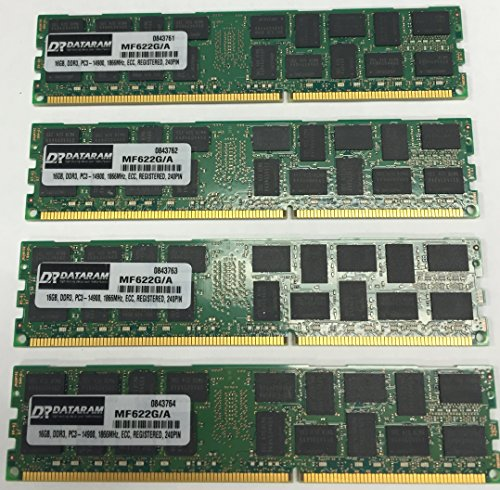 64GB (4 X 16GB) DDR3 PC3-14900 1866MHz ECC REGISTERED MEMORY RAM FOR APPLE MAC PRO LATE (Mac Pro Memory)