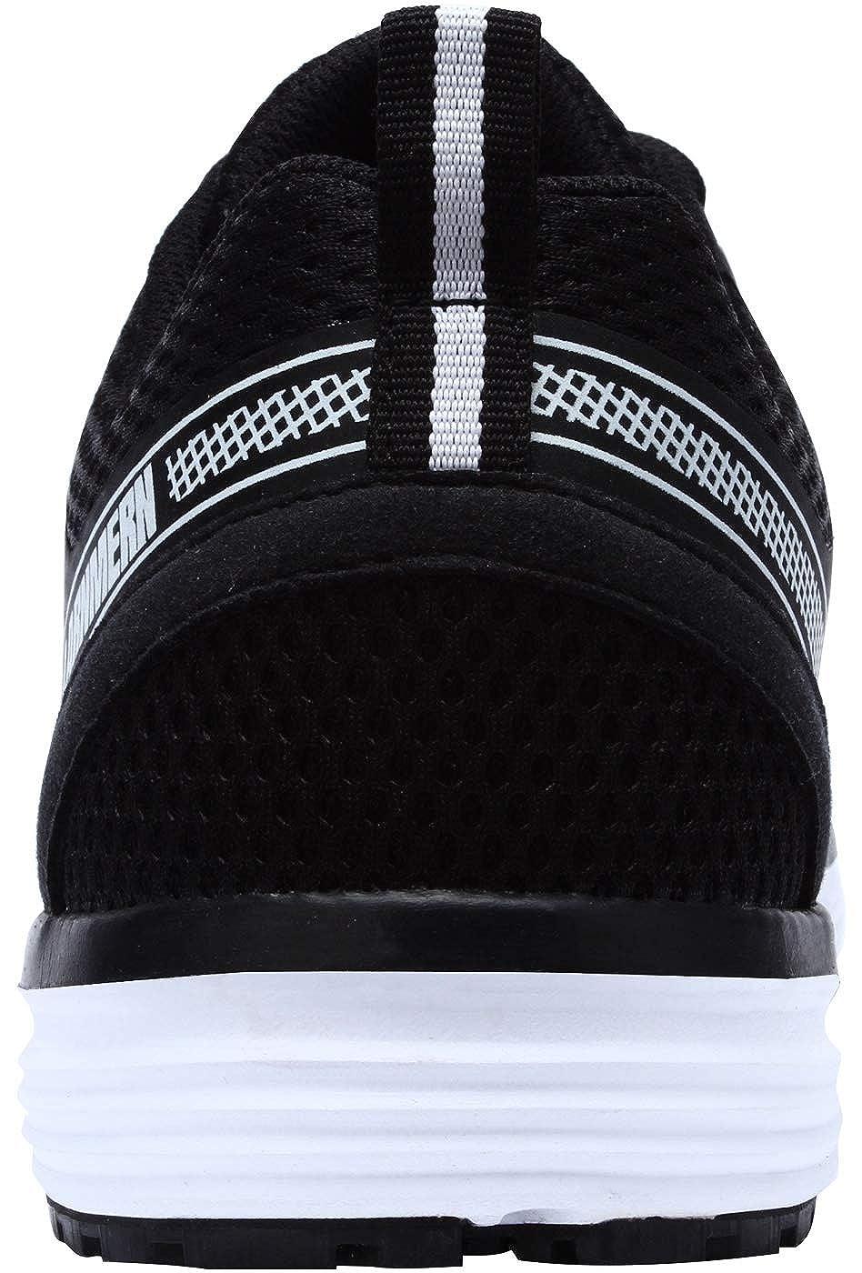 SRC Antid/érapant Anti Ponction Baskets de Securite Anti Statique S1P Industrie Chaussure L8055 LARNMERN Chaussure de Securit/é Homme