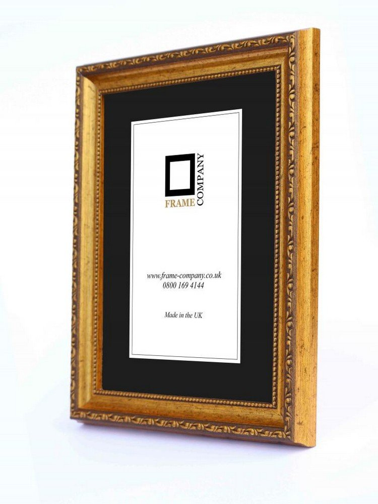 Frame Company Brompton Range A3 Picture Photo Frame, Gold: Amazon.co ...